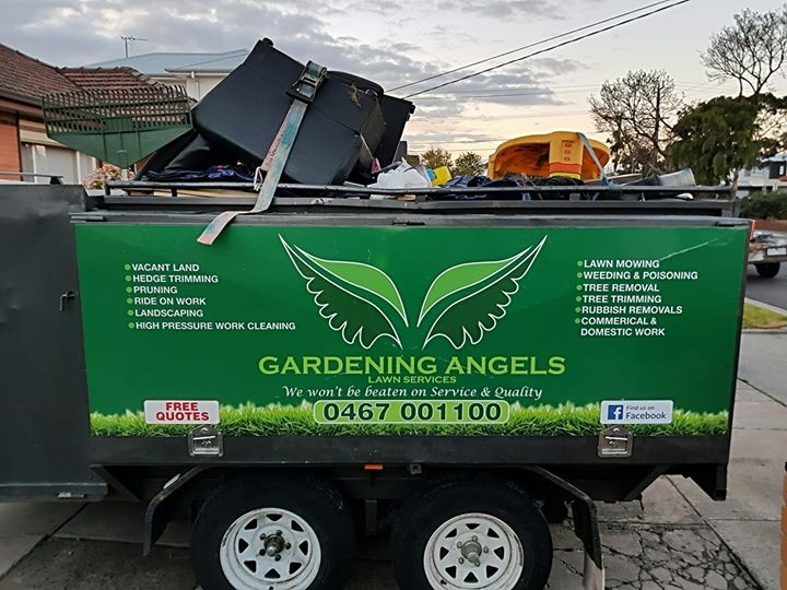 Rubbish Removal | Gardening Angels